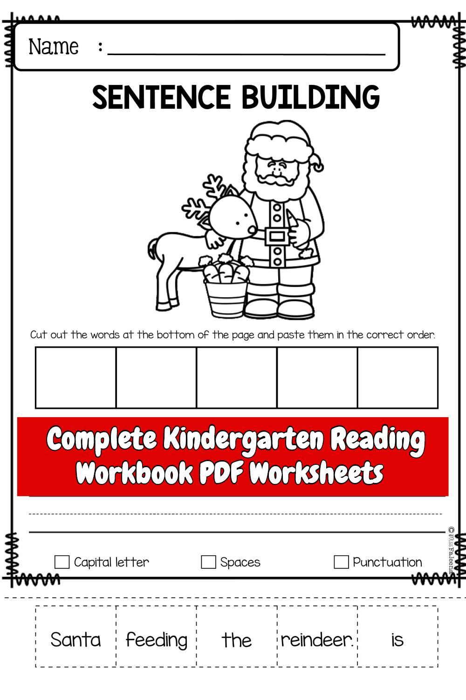 Complete Kindergarten Reading Workbook PDF