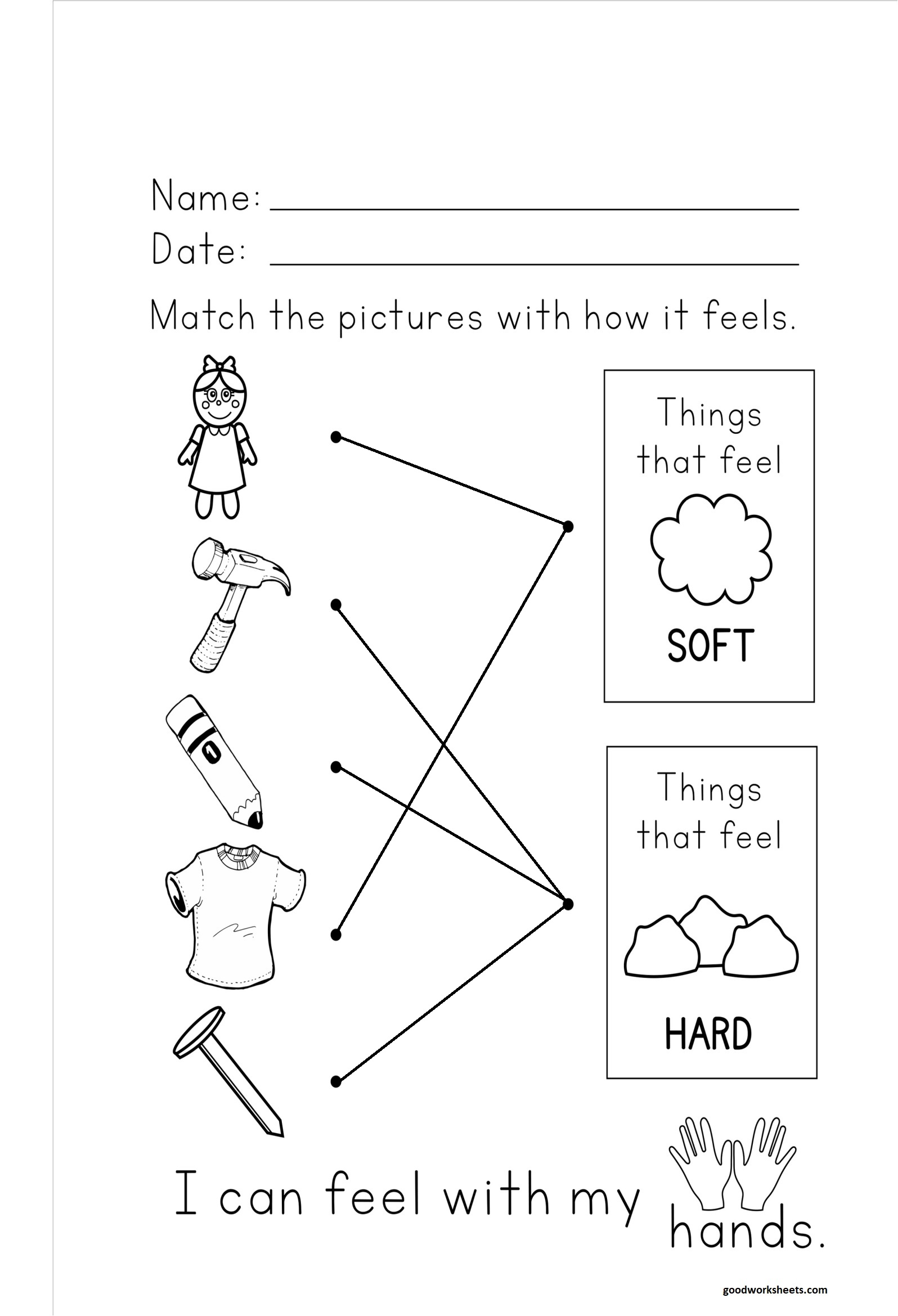 Hard And Soft Worksheets Answer Key
