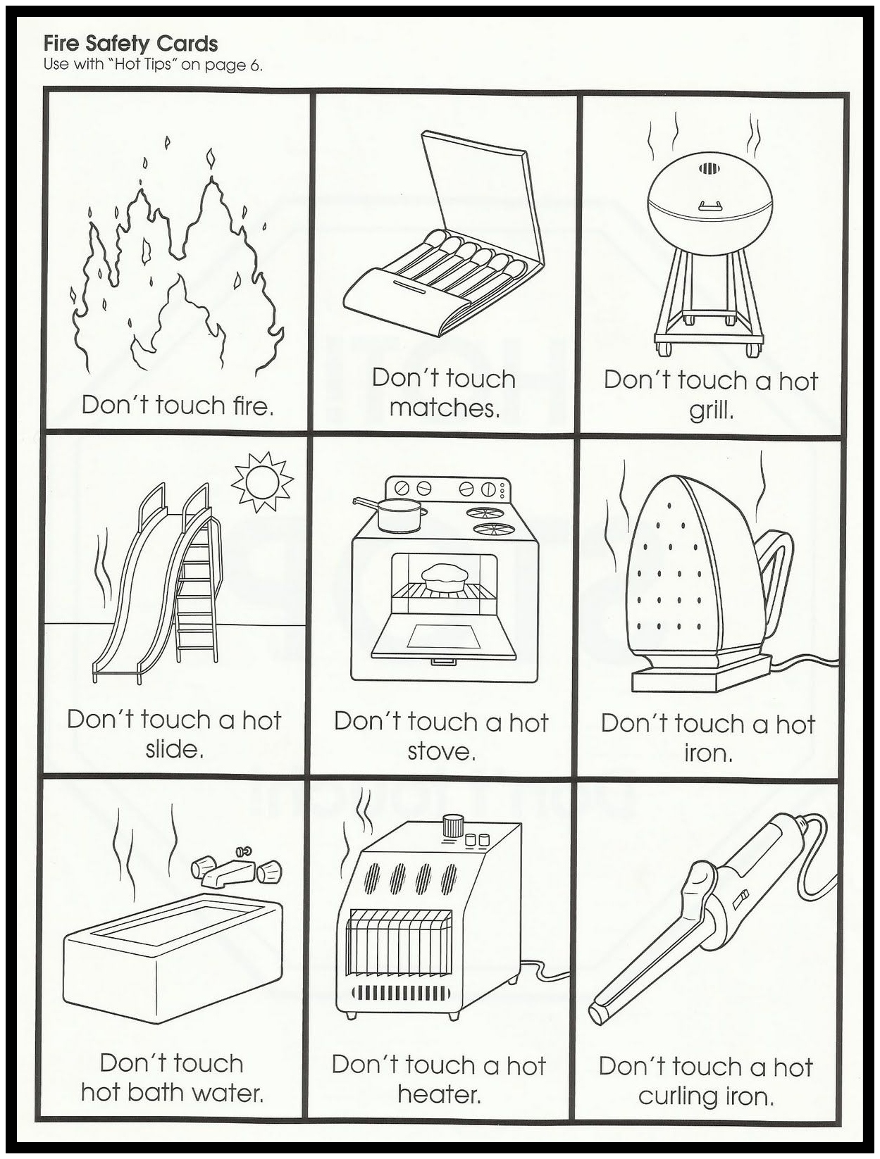 Safety In The Community Worksheets