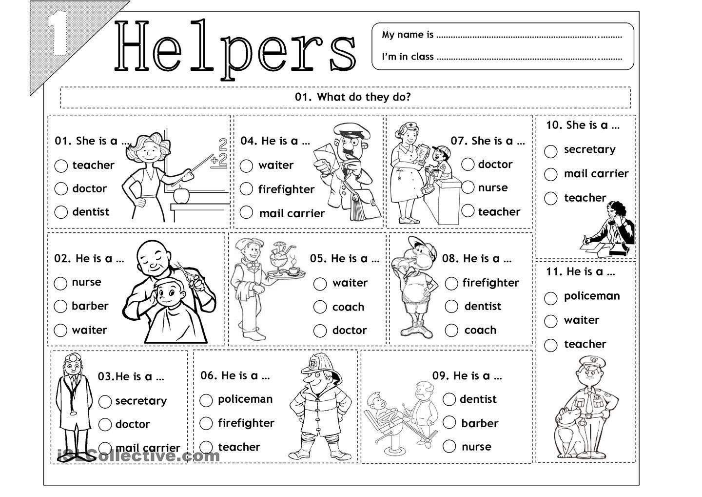 Kindergarten Social Studies Printable Worksheets