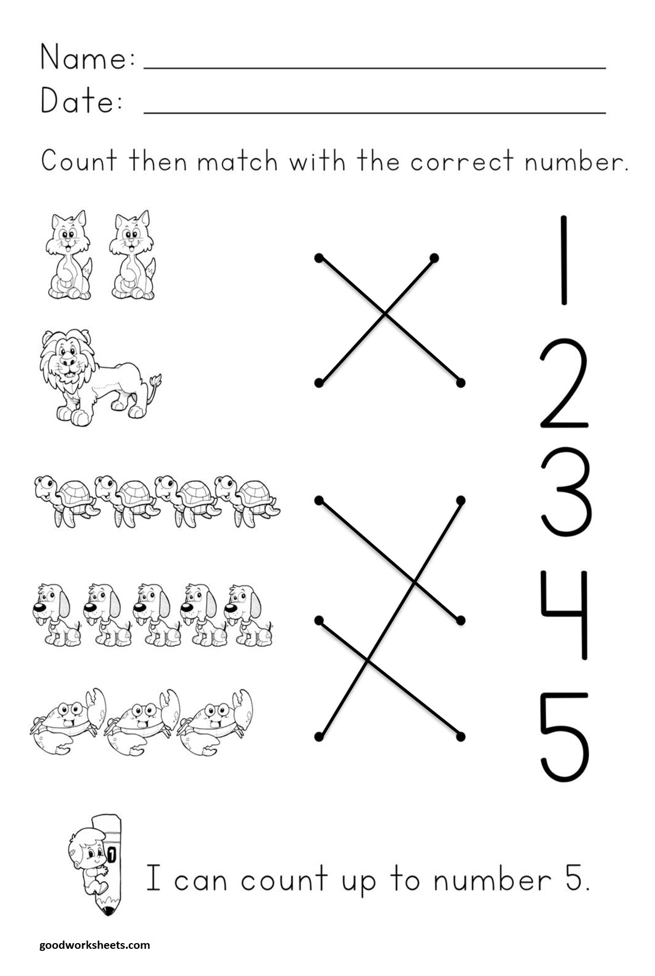 Number Concepts Worksheets Answer Key