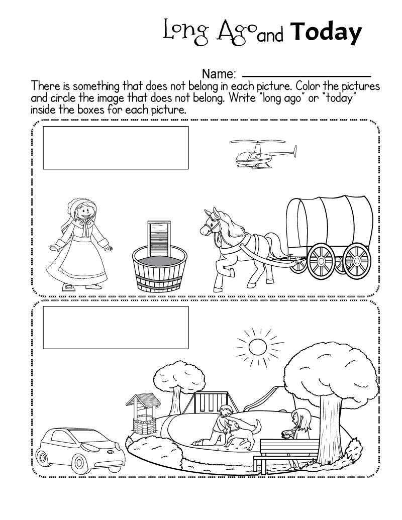 Social Studies Worksheets