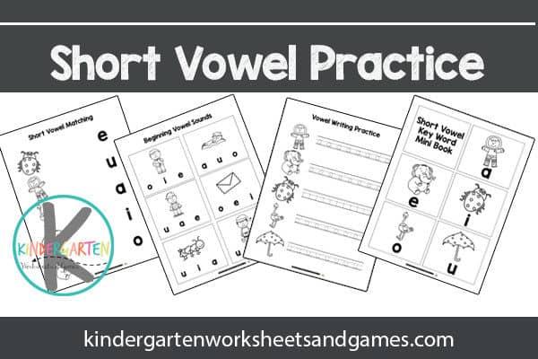 Free Short Vowel Sounds Worksheets