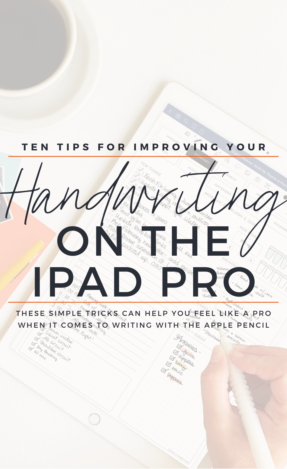 How To Improve Your Handwriting On The Ipad Pro With The Apple