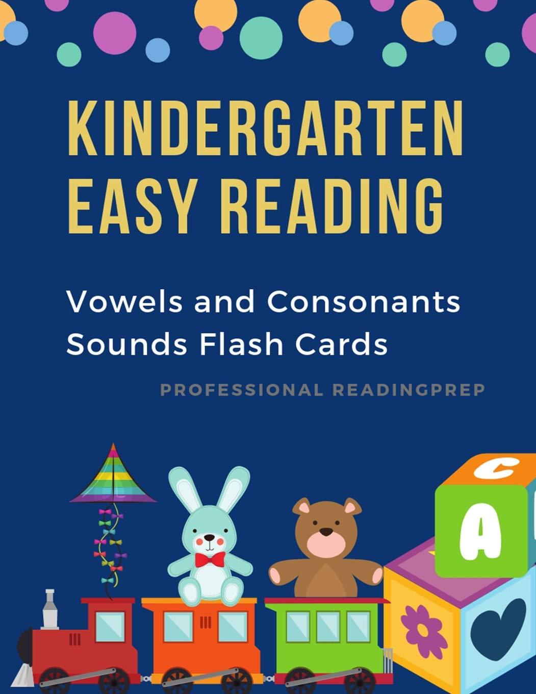 Kindergarten Easy Reading Vowels And Consonants Sounds Flash St