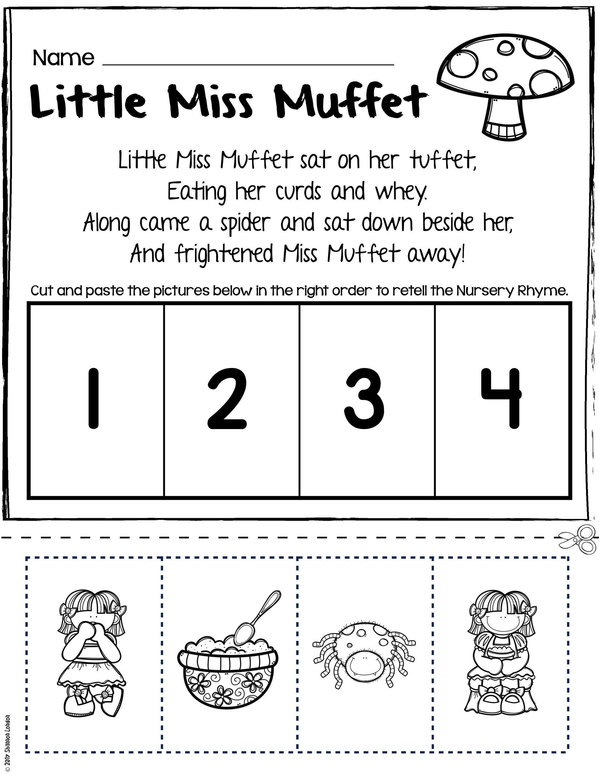 Teach Story Retelling With Nursery Rhymes