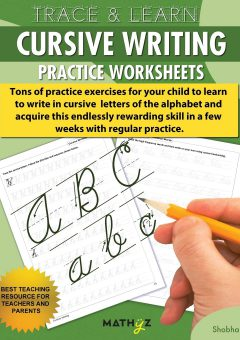 Cursive Words Starting With O Worksheets