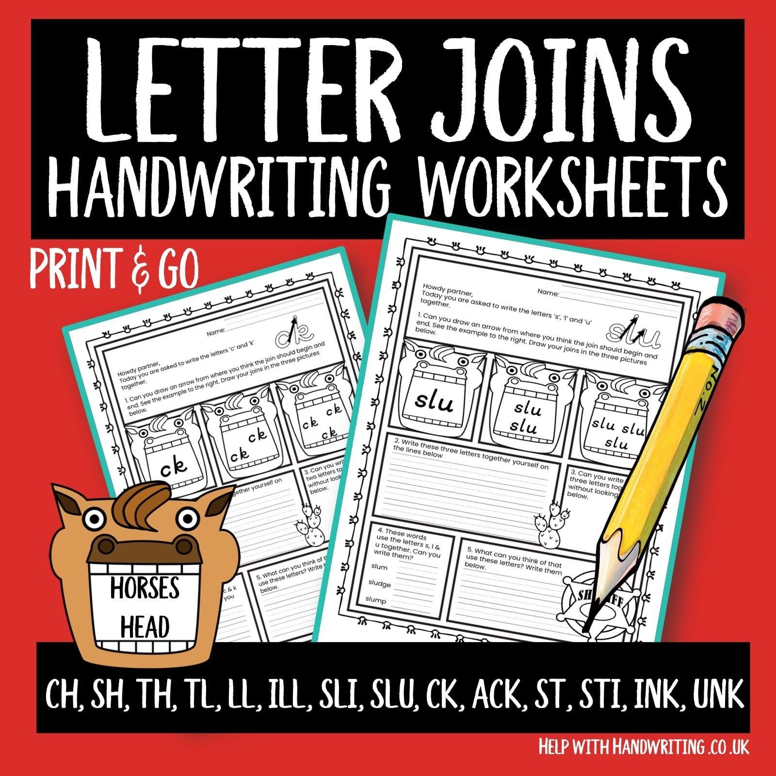 Worksheet Cursive Writing Worksheets Cursive Letter Joins Top